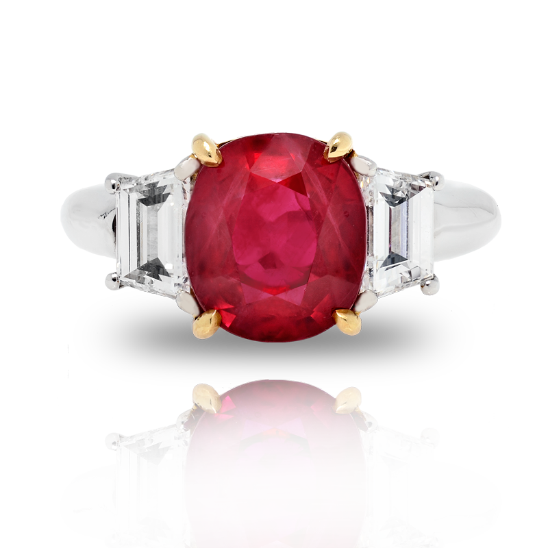 View Ruby and Diamond Ring