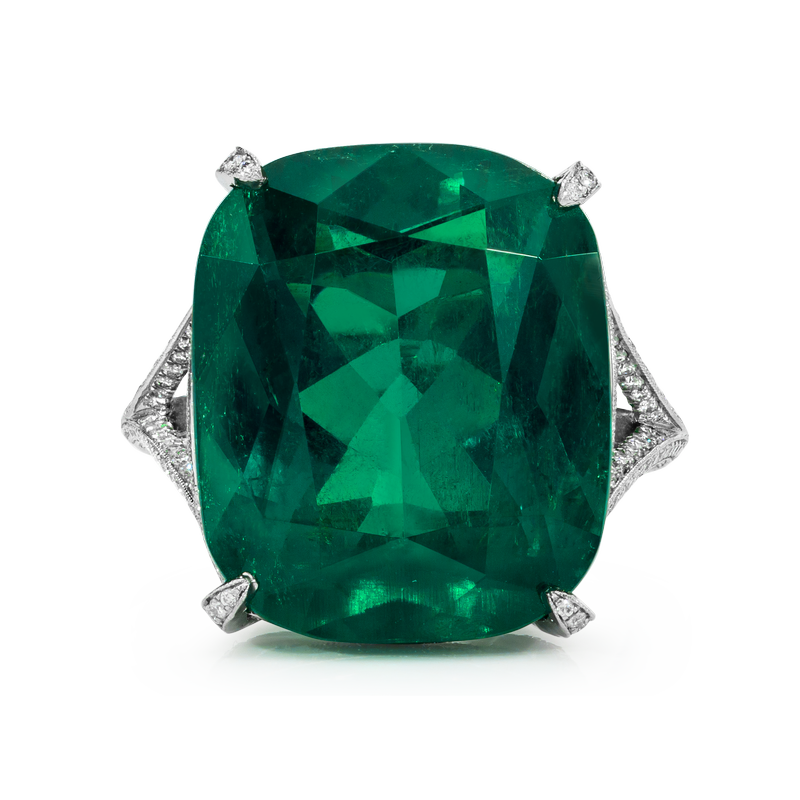 View Emerald Ring