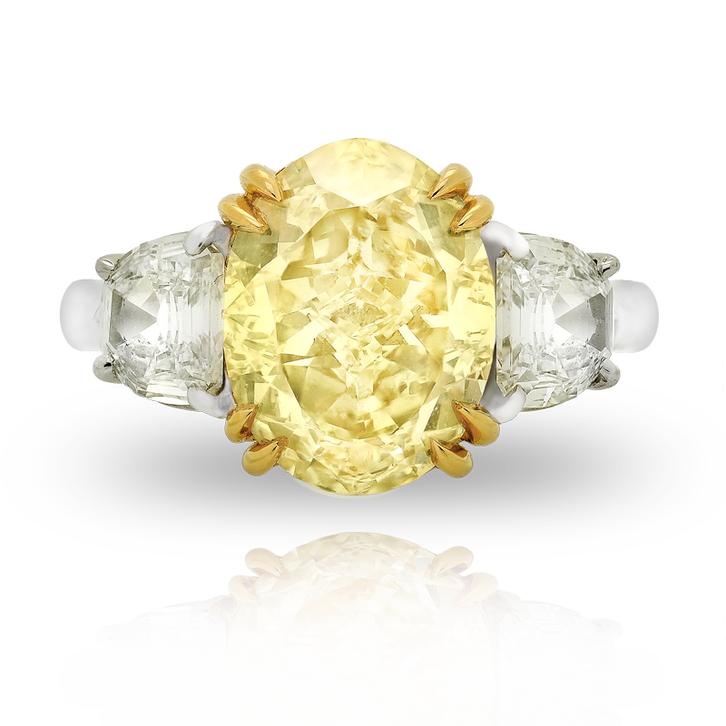 View Fancy Yellow Diamond Ring