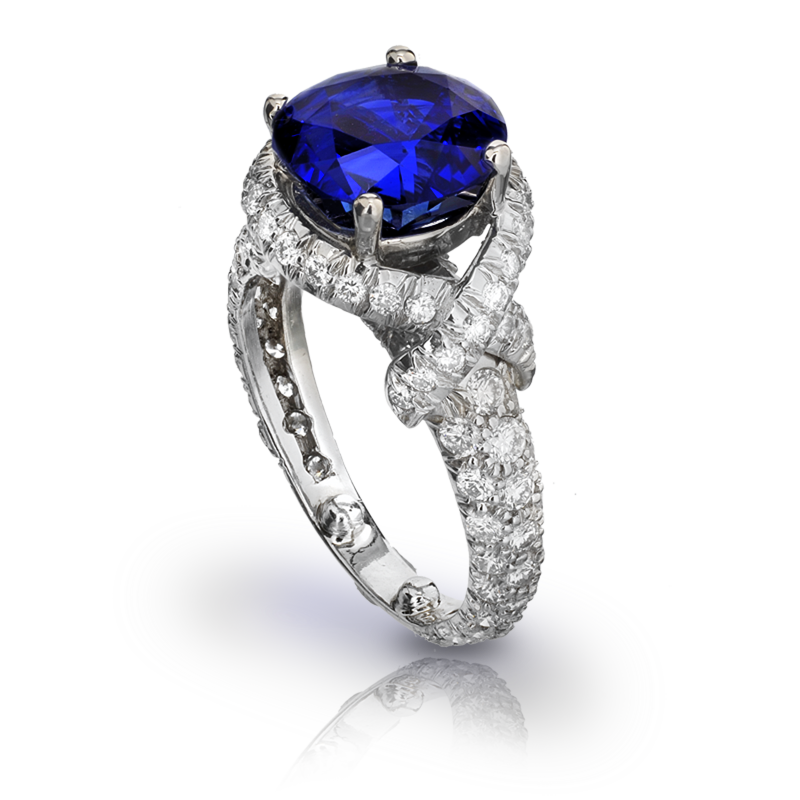 View Sapphire Ring